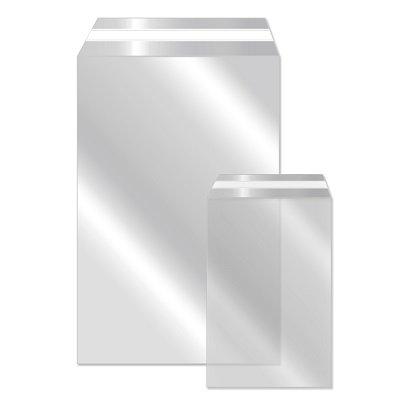 Klappenbeutel - Adhäsionsbeutel, 300 x 400 + 50 mm