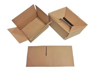Faltkarton Automatikboden 330 x 220 x 190-80 mm