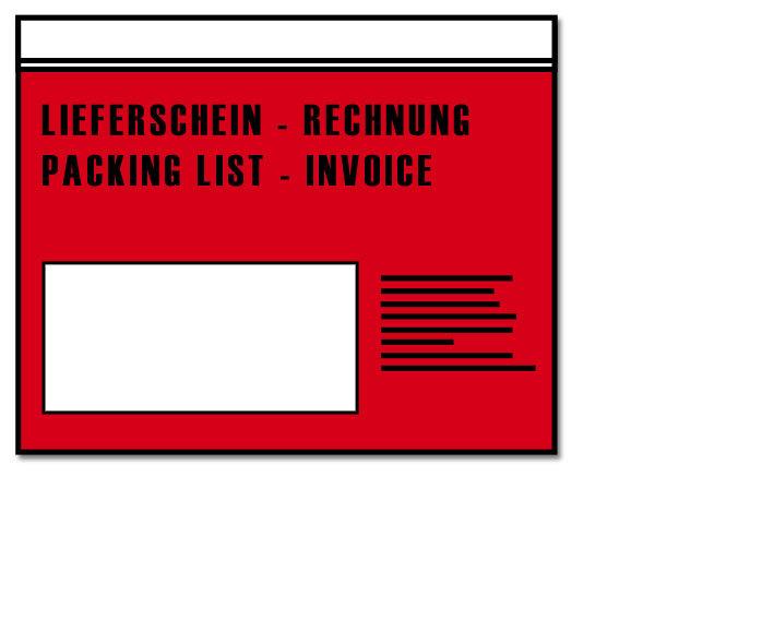 Dokumententaschen C6, bedruckt, 1.000 Stück