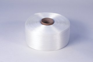 850 m//Rolle Polyester 1x Textilumreifungsband weiß 16 mm breit
