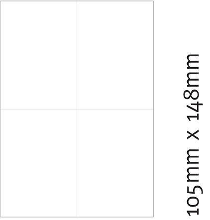 Etiketten 105 x 148 mm