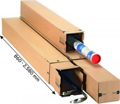 LongBox Versandhülse TELESKOP 860 x 111 x 111 mm