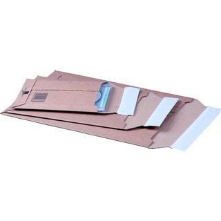 Versandtasche aus Wellpappe 150 x 250 x -50 mm
